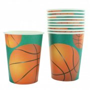 10 Gobelets Basket-ball