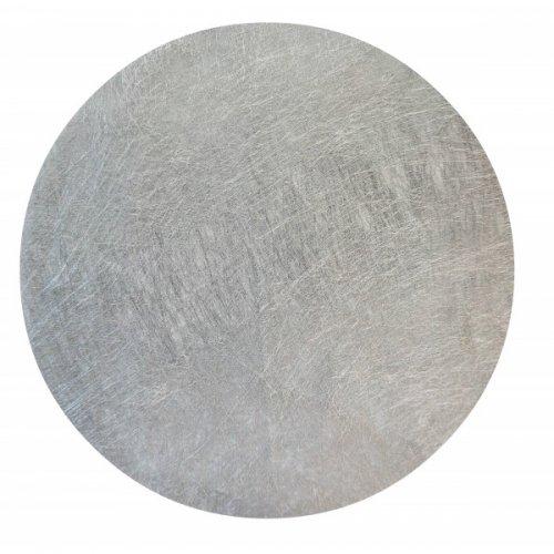 6 Sets de Table Argent (34 cm)