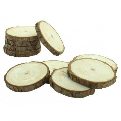 10 Mini Rondins à personnaliser (5 et 7,5 cm) - Bois