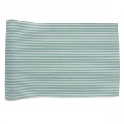 Chemin de Table Rayures Kermess Bleu (3 m) - Coton