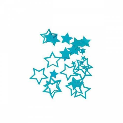 Confettis Etoiles Turquoise