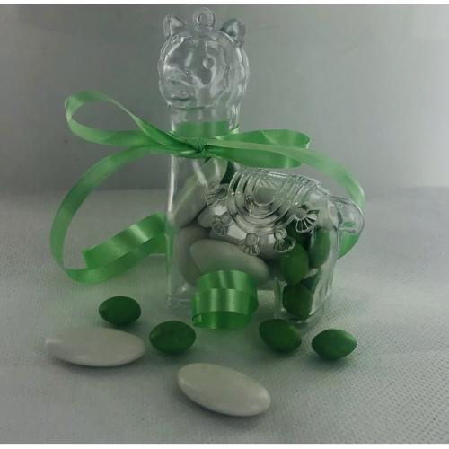 3 Boites Lama (9,5 cm) - Plastique Crystal