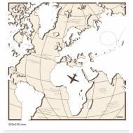 20 Serviettes Voyage
