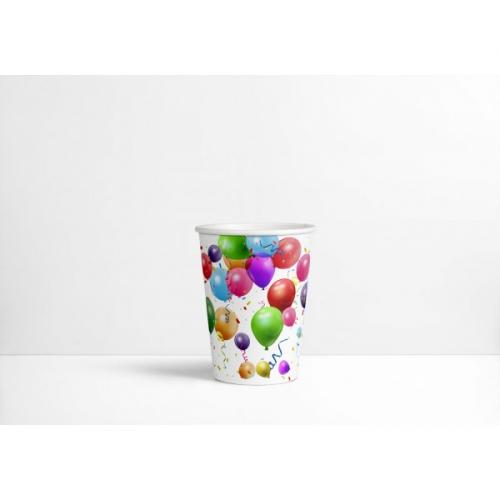 6 Gobelets Ballons