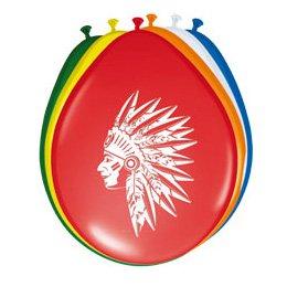 8 Ballons Indien Rainbow