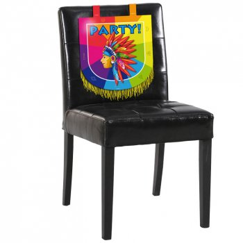 Décoration de Chaise Indien Rainbow