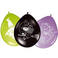 Contient : 1 x 8 Ballons Petite Sorcière