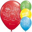 8 Ballons Schtroumpf Movie