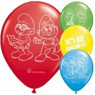 8 Ballons Schtroumpf Movie