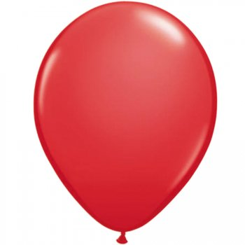 Lot de 100 Ballons Rouge