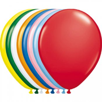 Lot de 100 Ballons Multicolore