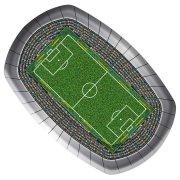 8 Assiettes Stade de foot