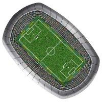 Contient : 1 x 8 Assiettes Stade de foot