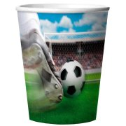 4 Gobelets 3D Stade de foot en Melamine