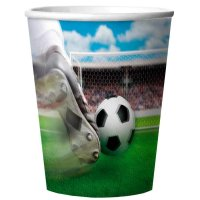 Contient : 2 x 4 Gobelets 3D Stade de foot en Melamine