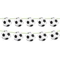 Contient : 1 x Guirlande fanions Ballons Stade de Foot