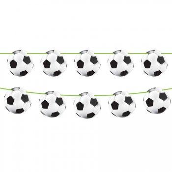 Guirlande fanions Ballons Stade de Foot