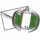 8 Invitations Stade de foot