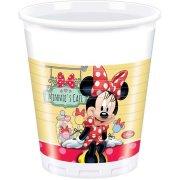 8 Gobelets Minnie Café