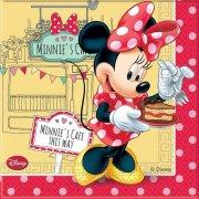 20 Serviettes Minnie Caf�
