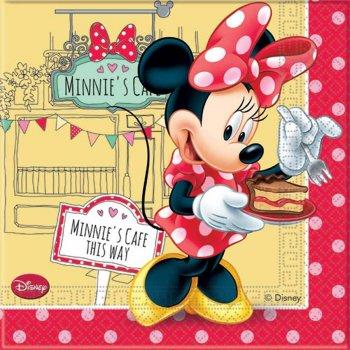 20 Serviettes Minnie Café