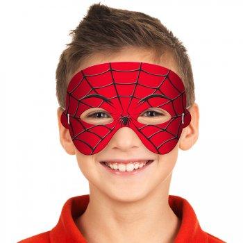 Masque de Spiderman en mousse