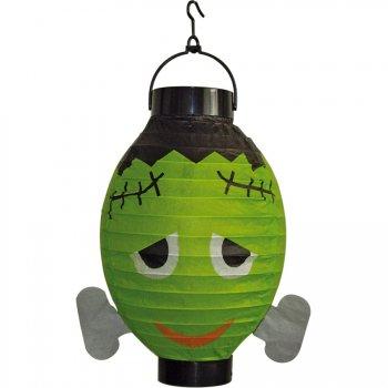 Lanterne Halloween Frankenstein lumineuse