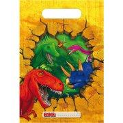 6 Pochettes � cadeaux Dinosaure