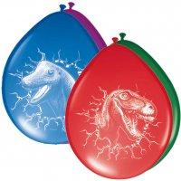 Contient : 1 x 6 ballons Dinosaure