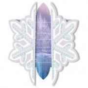 6 Invitations La Reine des Neiges sur glace