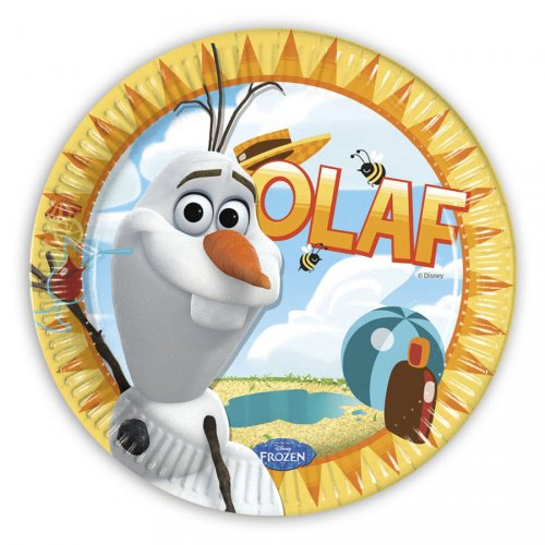 8 Assiettes Olaf