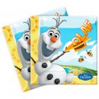 20 Serviettes Olaf La Reine des Neiges