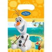 6 Pochettes Cadeaux Olaf