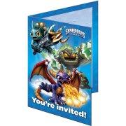 6 Invitations Skylanders