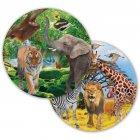 8 Assiettes Safari Party