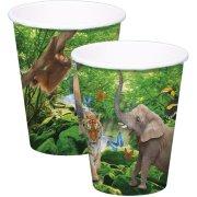 8 Gobelets Safari Party