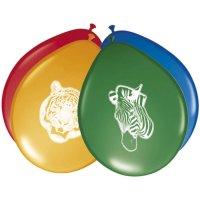 Contient : 1 x 8 Ballons Safari Party