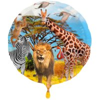 Contient : 1 x Ballon Mylar Safari Party