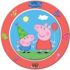 8 Assiettes Peppa Pig Party
