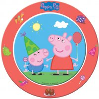 Contient : 1 x 8 Assiettes Peppa Pig Party