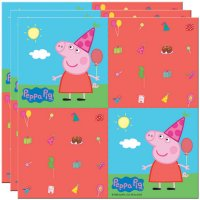Contient : 1 x 20 Serviettes Peppa Pig Party