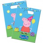 8 Pochettes à cadeaux Peppa Pig Party