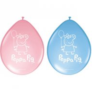 8 Ballons Peppa Pig