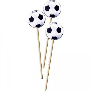8 Maxi Pics Ballons de Foot (22 cm)