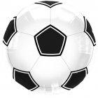 Ballon � Plat Foot Noir/blanc