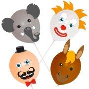Kit Ballons à Décorer Circus