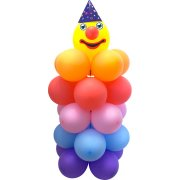Kit Ballon Clown DIY Géant (120 cm)