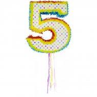 Pull Pinata Chiffre 5 Multicolore (49 cm)