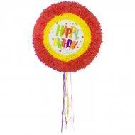 Pull Pinata Happy Birthday Etoiles (48 cm) Dépliable