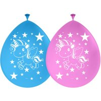 Contient : 1 x 8 Ballons Licorne Kawaïï